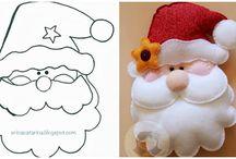 Decorações de Natal / https://www.facebook.com/conceicao.vidal   Trabalhos natalinos