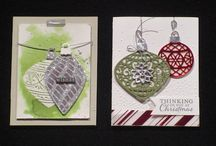 Embellished ornaments - Christmas 2015