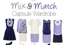 Colour mix and match clothes/fashion