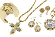 Handcast Gold / Classic Susan Shaw handcast 24K gold jewelry