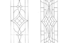 patrons vitrail et dessins à imprimer