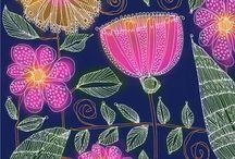 Spoonflower Fabrics