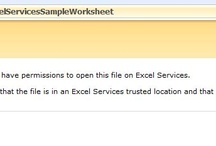 Access denied to XLSX File