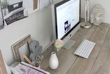 ◕ Craft Room Design / office, desk, home, work from home, craft room, crafts, storage