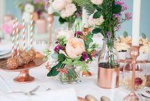 Copper Wedding | Inspiration / Dem Trend auf der Spur. Wir haben hier ein Pinnboard ganz in dem aktuellen Trendton KUPFER zusammengestellt. Schaut euch in Ruhe um und bei Fragen einfach Bescheid geben.