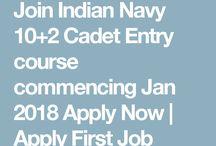 Apply first Job