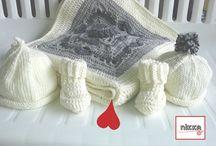 crochet-knit baby-bambini uncinetto e maglia