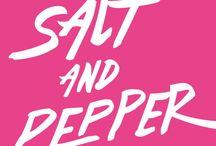 SALTANDPEPPER / Poczuj smak wyrazistej soli i ostrego pieprzu na własnej skórze! WEAR YOUR TASTE!