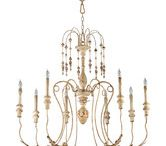 chandeliers / by Maddie Beck