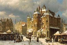 Amsterdam in Paintings