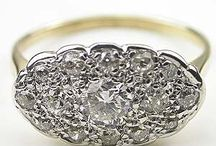 14kt 25 pt princess ring 1950s