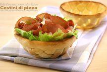 cestini di pizza / Impasti