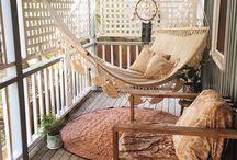 Terraza y balcón