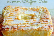 Recipes - Baking with LEMON
