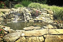 Water Features / We provide water feature designs including ponds, fountains, waterfalls and more!