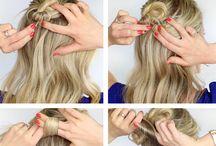 Hair stylish, make-up