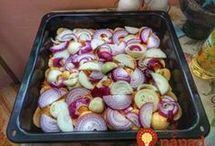 zapékané maso s brambory