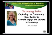 Webinars / FGS Webinar Series / by Federation of Genealogical Societies