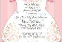 Invitación al Baby Shower