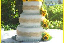 Sunflower Wedding Ideas / Ideas for a sunflower themed wedding