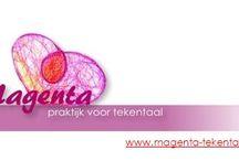 Activiteiten Magenta-Tekentaal / agenda, workshops en cursusaanbod van Magenta-Tekentaal, praktijk voor creatieve therapie.