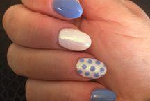 Nail designs / Nail art/designs in Gel and Nail Polish