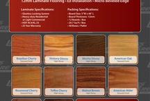 Flooring / Laminate Flooring and Acoustical Underlayment