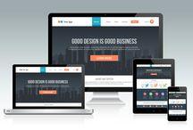 Web Design / All about the web design that contains logo design, website design, layout design & graphic design.