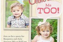 Twins first birthday / by Melanie Henning