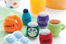 crochet ice tray