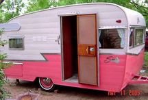 Glamping & Vintage Trailers / I have a facination with these vintage trailers and I have a huge desire to get one, fix it up and go camping.  I had read about the Sisters on the Fly group some years ago and thought it was very interesting and seemed like fun.  I'd love to do this with my sweetheart.
