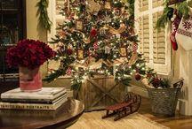 Vánoce obývák