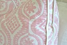 upholstery and curtain details