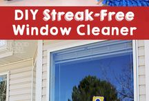 Window Cleaning / Finding techniques to keep your windows shining all year round!