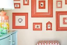 Home Decor: Frame inspiration / This board is full of ideas for you to make that perfect wall filled with your special memories.