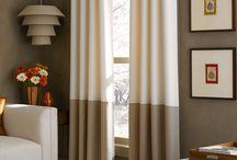 Curtain ideas / by Stephanie LaRobadiere