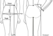 Sewing body measurement