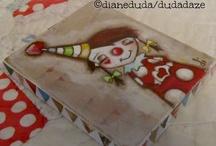 kartonový cirkus obrázky
