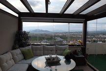 Uno de los mejores áticos con Cortinas de Cristal (Granada)