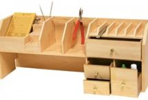 Jewellers workbench shelf