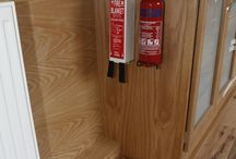 Canal Boat Fire Blankets and Extinguishers / Canal Boat / Narrowboat Fire Blankets and Extinguishers