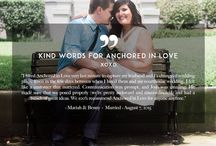 Kind Words / Reviews and Kind Words for Anchored in Love Photo|Video.  Hear what other brides and clients think of us!