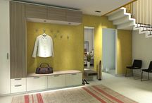 Inšpirácie na nábytok do predsiene a chodby/ Hallway furniture ideas
