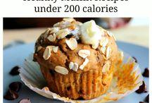 Healthy cookies & muffins