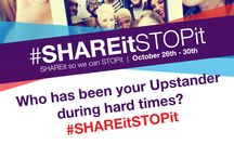 #SHAREitSTOPit Campaign / SHAREit so we can STOPit!   In honor of National Bullying Prevention Month, STOPit is spreading positivity across social media to help end bullying and cyberbullying!   Join us as we ask YOU, our loyal Upstanders, who and what makes a positive impact on your life!