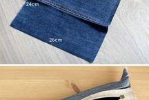 creare piccole cose dai jeans