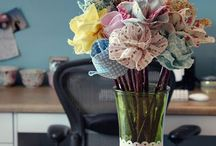 Alternative Bouquets for Kimberley / Beautiful bouquets for a beautiful bride to be!