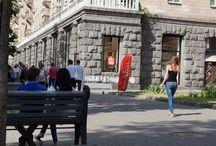 Chicas ucranianas de Kiev / Fotos de chicas ucranianas en las calles de Kiev.