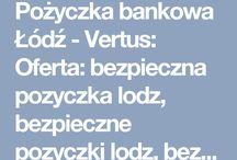 Pożyczka bankowa Łódź