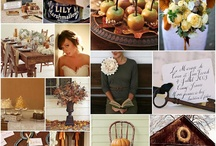 WEDDING THEME: Autumn / Inspiration board for autumn wedding theme